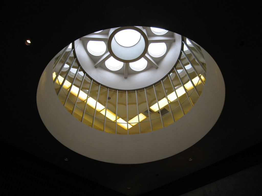 Edward Johnson Building skylight